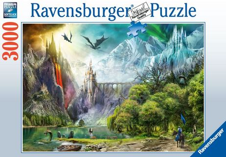 Ravensburger Puzzle 3000 pc Reign of Dragons