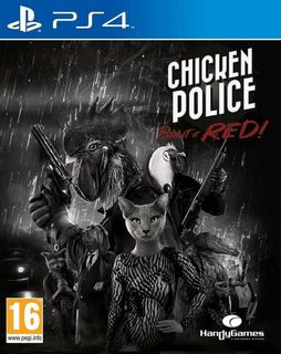 PS4 Chicken Police - Paint it RED!
