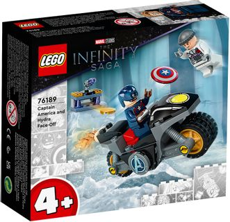 LEGO Super Heroes Captain America and Hydra Face-Off