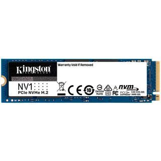 Kingston 500GB NV1 M.2 2280 NVMe SSD, up to R/W: 2100MB/s /1700MB/s