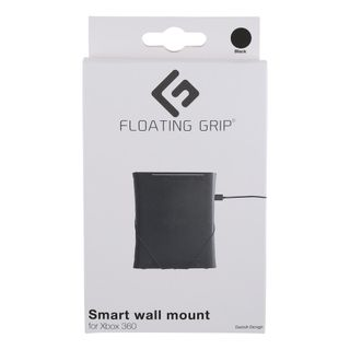 Xbox 360 wall mount by FLOATING GRIP, Black