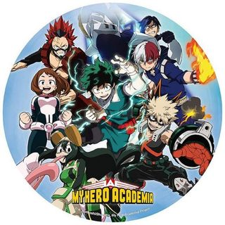 Mouse Pad My Hero Academia - Group, Shaped Flexible 215mm