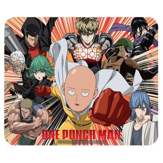Mouse Pad One Punch Man - Heroes, Flexible 235x195mm