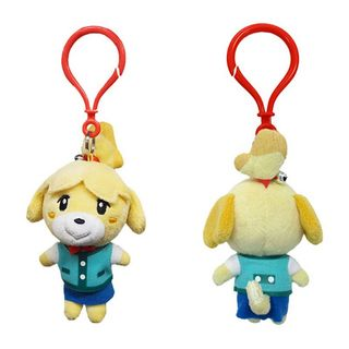 Animal Crossing - Isabelle Clip On Plush, 12cm