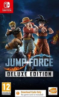 SWITCH Jump Force Deluxe Edition - Digital Download