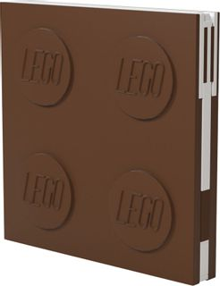 LEGO Stationery - Notebook Deluxe with Pen - Brown (524463)