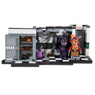 Five Nights at Freddy's - Parts & Service Construction Set incl. 2 Figures, 209 Pieces