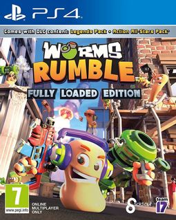 PS4 Worms Rumble Fully Loaded Edition