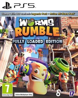 PS5 Worms Rumble Fully Loaded Edition
