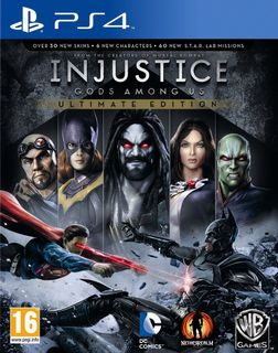 PS4 Injustice: Gods Among Us Ultimate Edition [USED] (Grade A)