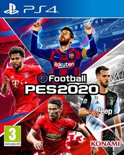 PS4 eFootball PES 2020 [USED] (Grade A)