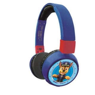 Lexibook - 2 in 1 Bluetooth and Wired comfort foldable Headphones with kids safe volume - Paw Patrol