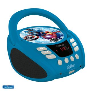 Lexibook - The Avengers Portable CD player with Mic Jack