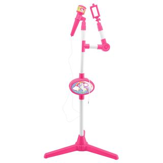 Lexibook - Unicorn microphone with luminous stand, built-in speaker, sound effects