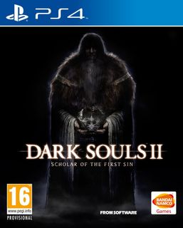 PS4 Dark Souls II: Scholar of the First Sin - Ex Trilogy [USED] (Grade A)