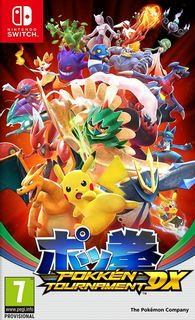 SWITCH Pokken Tournament DX [USED] (Grade A)