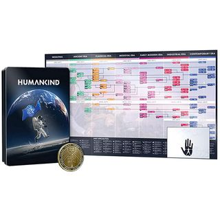 Humankind - Steelbook, Two-Sided Coin and Poster Pack