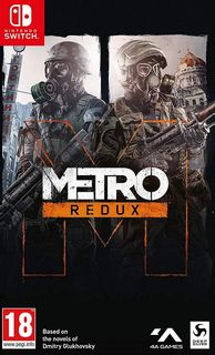 SWITCH Metro Redux: 2033 and Last Light [USED] (Grade A)