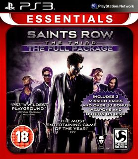 PS3 Saints Row: The Third: The Full Package [USED] (Grade A)