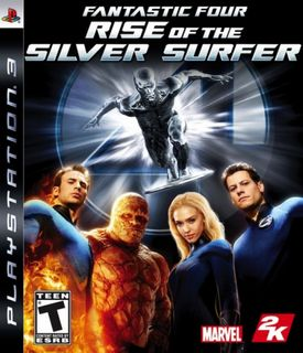 PS3 Fantastic Four: Rise of the Silver Surfer US Version [USED] (Grade A)