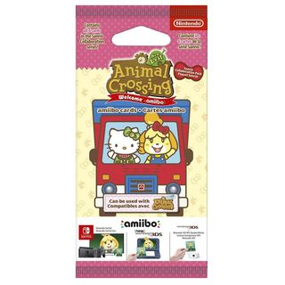 Amiibo Animal Crossing: New Leaf - Sanrio Welcome Pack incl. All 6 Cards