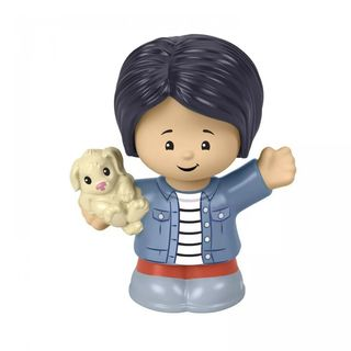 Fisher-Price: Little People - Mom With Puppy Figure (GWV17)