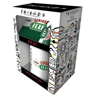 Gift Set: Friends - Central Perk Mug, Coaster and Keychain