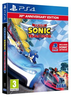 PS4 Team Sonic Racing 30th Anniversary Edition incl. Artbook
