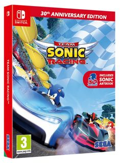 SWITCH Team Sonic Racing 30th Anniversary Edition incl. Artbook