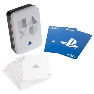 Playing Cards in Metal Case - PlayStation (PS5 Edition)