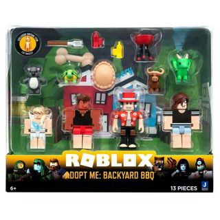 Roblox Celebrity Collection - Adopt Me: Backyard BBQ Multipack incl. 4 Figures
