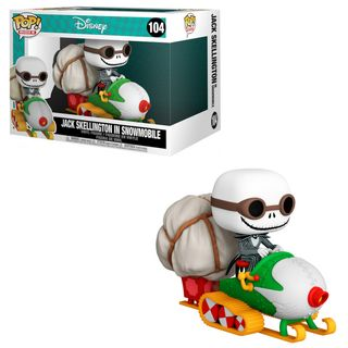 POP! Rides: Nightmare Before Christmas - Jack Skellington in Snowmobile (with Goggles) Vinyl Figure