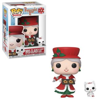 POP! Christmas: Peppermint Lane - Mrs. Claus and Candy Cane Vinyl Figures