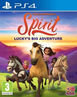 PS4 DreamWorks Spirit: Lucky's Big Adventure [USED] (Grade A)