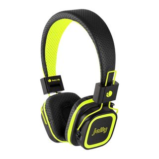 NGS Artica Jelly Bluetooth Stereo Foldable Headphones - Yellow/Black