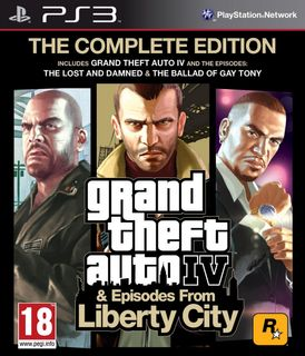 PS3 Grand Theft Auto IV: The Complete Edition (GTA 4) [USED] (Grade C)