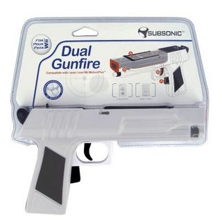 Subsonic Dual Gunfire Controller with MotionPlus - Grey (Wii)