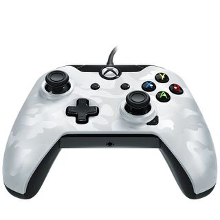 PDP Wired Controller Xbox Series X White Camo