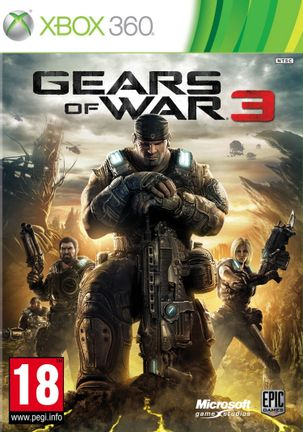 Xbox 360 Gears of War 3 - Xbox One Compatible