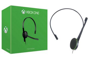 Xbox One Chat Headset - Black (Official)