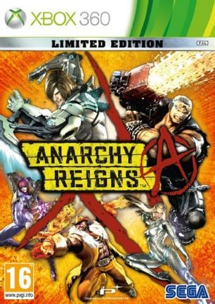 Xbox 360 Anarchy Reigns Limited Edition
