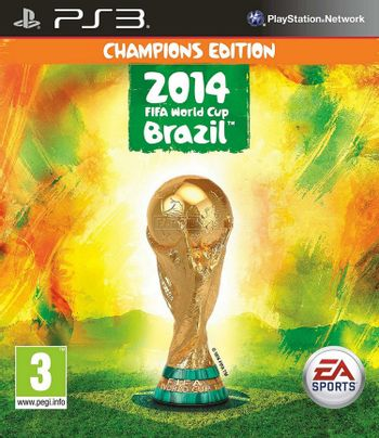 PS3 2014 FIFA World Cup Brazil Champions Edition