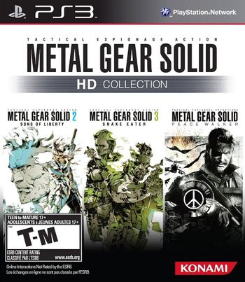 PS3 Metal Gear Solid HD Collection US Version