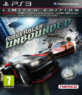 PS3 Ridge Racer: Unbounded Limited Edition