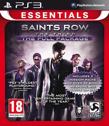 PS3 Saints Row The Third: The Full Package