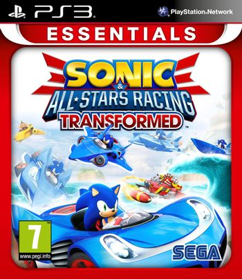 PS3 Sonic and All-Stars Racing: Transformed