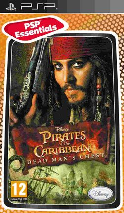 PSP Disney Pirates of the Caribbean: Dead Man's Chest