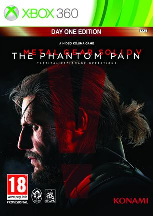 Xbox 360 Metal Gear Solid V: The Phantom Pain Day One Edition