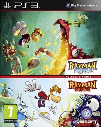 PS3 Rayman Legends and Rayman Origins