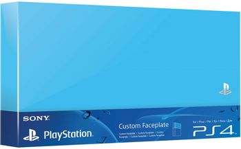 Custom Faceplate HDD Cover Official - Aqua Blue (PS4 Fat)